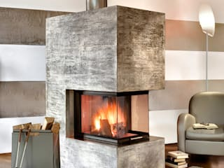Realizzazioni Toppino snc Living roomFireplaces & accessories
