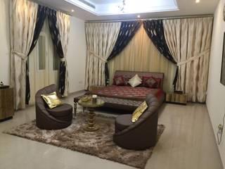 Villa Interiors Muscat Modern living room by KamalKavitaInteriors Modern
