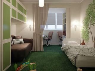 Детская комната Детские комната в эклектичном стиле от Проектный центр 'Метрика' Эклектичный