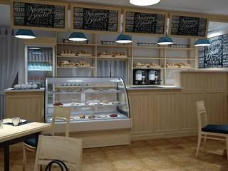 Дизайн-проект кафе от Проектный центр 'Метрика' Минимализм