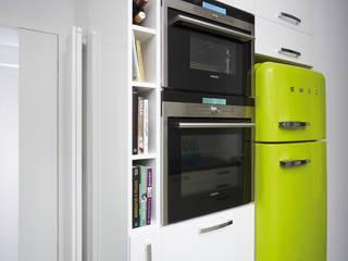 RED design Modern kitchen White