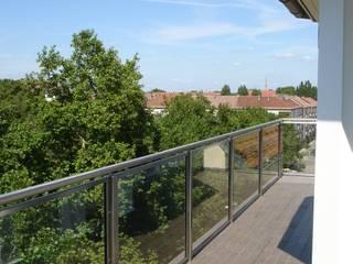 Classic style balcony, veranda & terrace by Buseck Architekten Classic