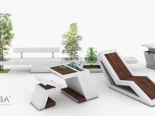 Linha Mobiliário Urbano:   por Urba Design Studio