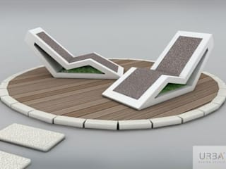 Mobiliário Urbano:   por Urba Design Studio