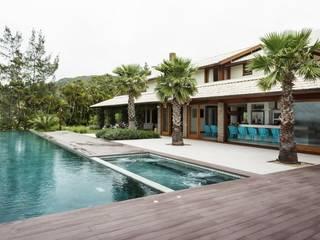 Modern Havuz Flavia Guglielmi Arquitetura Modern