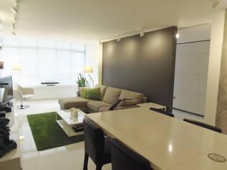 Reforma interior Salones de estilo minimalista de Disens Arquitectos Minimalista