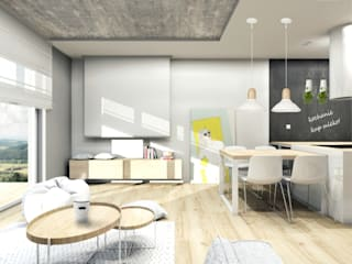Modern Dining Room by Architekt wnętrz Klaudia Pniak Modern