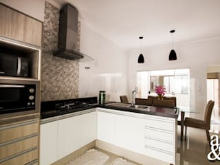 Arch & Design Studio Modern kitchen