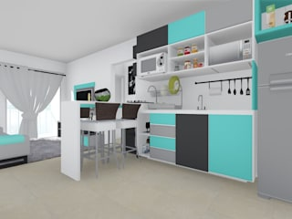 ELO - Arquitetura Integrada Modern kitchen