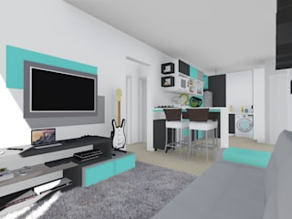 ELO - Arquitetura Integrada Modern living room