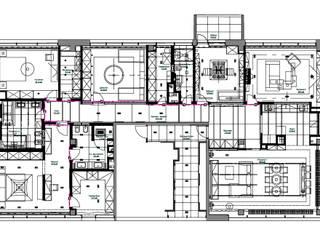 Appartment in Moscow:  в . Автор – Архитектурное бюро Лены Гординой