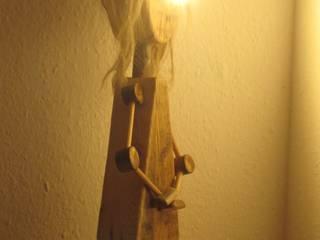 Stehleuchte, Designerleuchte, Lampe Treibholz von Alpenlandkunst Ausgefallen