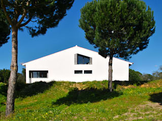 House in Coruche, Santarém Casas mediterrânicas por é ar quitectura Mediterrânico