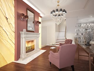 Living room by Artem Glazov,