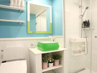 퍼스트애비뉴 Modern bathroom