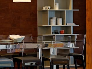 Residential - Juhu 2 Modern dining room by Nitido Interior design Modern Glass