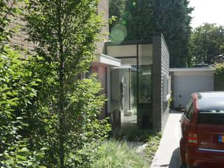 Leien schijf: moderne Keuken door Jan Couwenberg Architectuur
