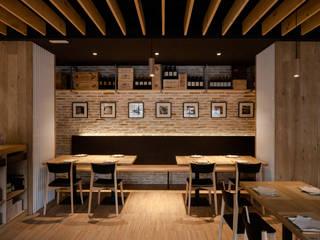 Don Jacobo La Bodega Persevera Producciones Comedores de estilo moderno Ladrillos Acabado en madera