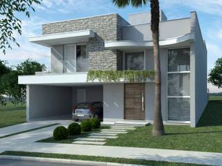 Moderne huizen van Jacon Arquitetura Modern