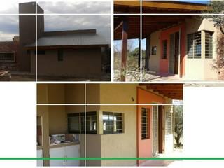 La Mañanita Balcones y terrazas rurales de Arqs. Enríquez Ingaramo Rural