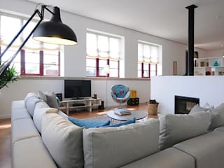 Livings de estilo minimalista por MH PROJECT