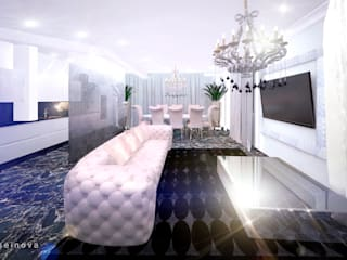 Salon classique par Дизайн интерьера под ключ - GDESIGN Classique