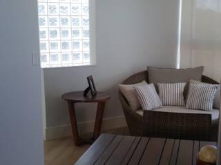 Apartamento cobertura no Rio Vermelho: Terraços  por 2nsarq,Moderno