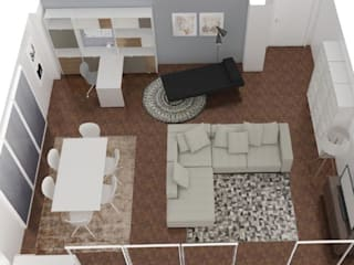 Ruang Keluarga Modern Oleh Ana Pacheco - BoConcept Interior Designer Modern