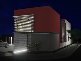 Frente Sur: Casas de estilo  por Estudio Mutuo