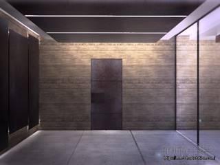 Forest Cube Art Gallery Museos de estilo minimalista de mm-3d Minimalista