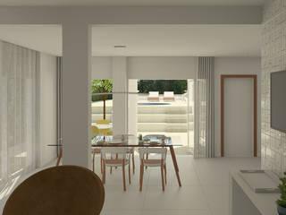 Reforma SSA01 Salas de jantar modernas por Atelier 6 Arquitetura Moderno