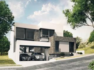 Minimalist house by Diez y Nueve Grados Arquitectos Minimalist