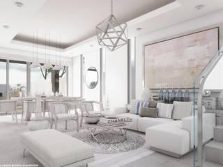 Sala comedor: Salas de estilo  por Diez y Nueve Grados Arquitectos