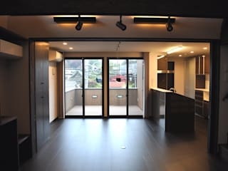 MNハウス モダンな 家 の 一級建築士事務所 渡邊唯建築設計事務所 モダン