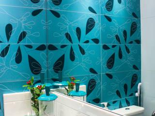 Sophie Design de Interiores Baños de estilo moderno Cuarzo Turquesa