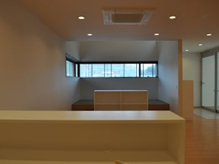 Sハウス モダンデザインの 書斎 の 一級建築士事務所 渡邊唯建築設計事務所 モダン