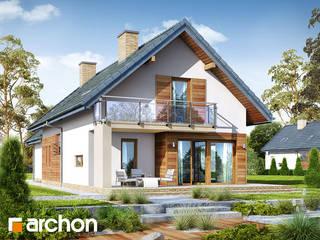 Projekt domu ARCHON+ Dom w daktylowcach (G2) od ARCHON+ PROJEKTY DOMÓW