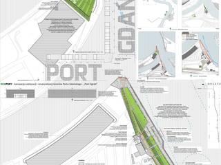 I nagroda w konkursie na estetyzacje frontów wodnych w Porcie Gdańsk od Studio r_oland kwasny architekt