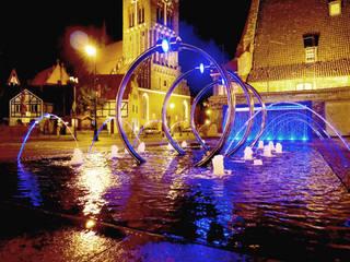 I nagroda w konkursie i realizacja - fontanna na pl.Heweliusza w Gdańsku od Studio r_oland kwasny architekt