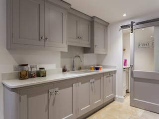 Hand built kitchen in Hertfordshire by John Ladbury and Company Classic