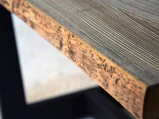Stół do jadalni Borer: styl , w kategorii  zaprojektowany przez Blaise Handmade Furniture