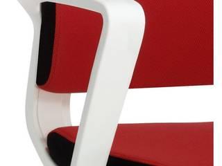 white chair. Noves cadires giratories a Espaisit de Espaisit