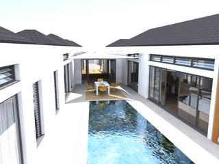 Rezydencja -Karaiby Klasyczny basen od Biuro Architektoniczno-Budowlane s.c. Klasyczny