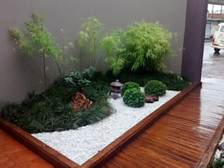 Borges Arquitetura & Paisagismo Modern style gardens