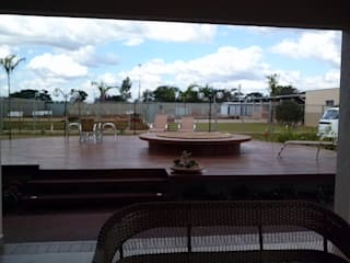Borges Arquitetura & Paisagismo Spa de estilo tropical
