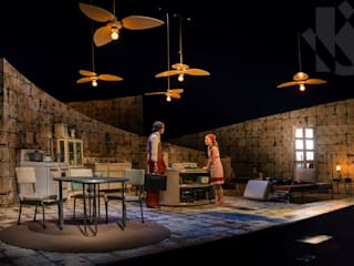 Escenografía Obra de Teatro 2014 de UribeKrayer