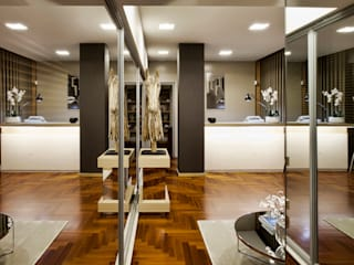 Jorge Cassio Dantas Lda Bangunan Kantor Modern Kaca Beige