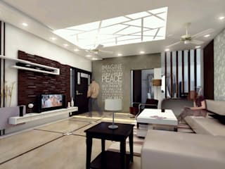 Residential Project Modern living room by Izza Architects & Interior designers Modern