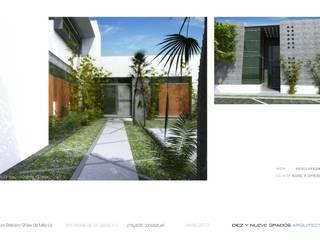 minimalist  by Diez y Nueve Grados Arquitectos, Minimalist
