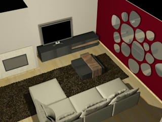 Sala de Estar por Favos Comércio de móveis e artigos para decoração lda. Moderno